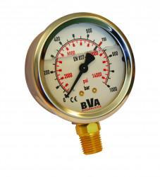 Manometer olejovy GBW 1460   G 1/4   0 - 1000 Bar